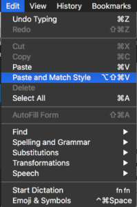 Remove formatting from copied text | SlawTips